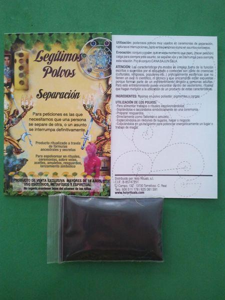 Picture of Polvo separación