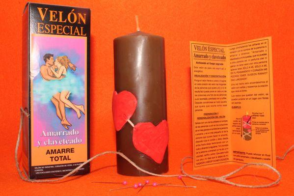 Picture of Velón especial Amarrado y Claveteado