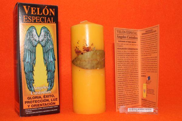 Imagen de Velón especial Ángeles Custodios