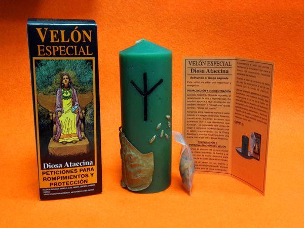 Picture of Velón especial Wicca Diosa Ataecina
