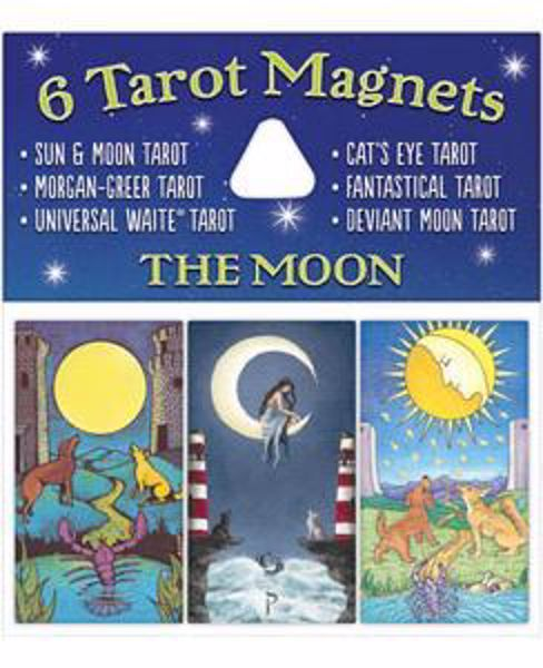 Picture of 6 TAROT MAGNETS THE MOON