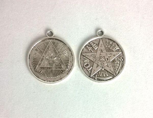 Picture of RECORDED Tetragrammaton 35 MMS PENDANT