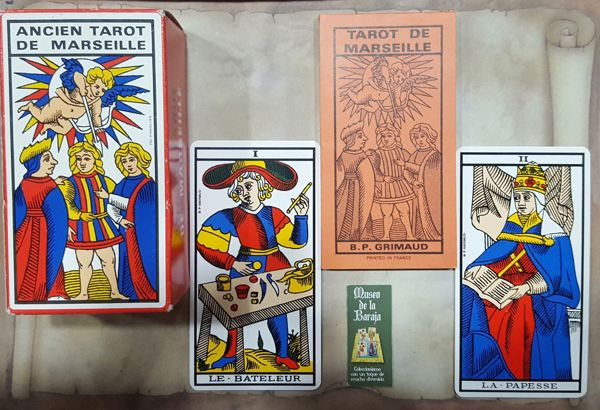 Picture of Ancient Tarot Of Marseille