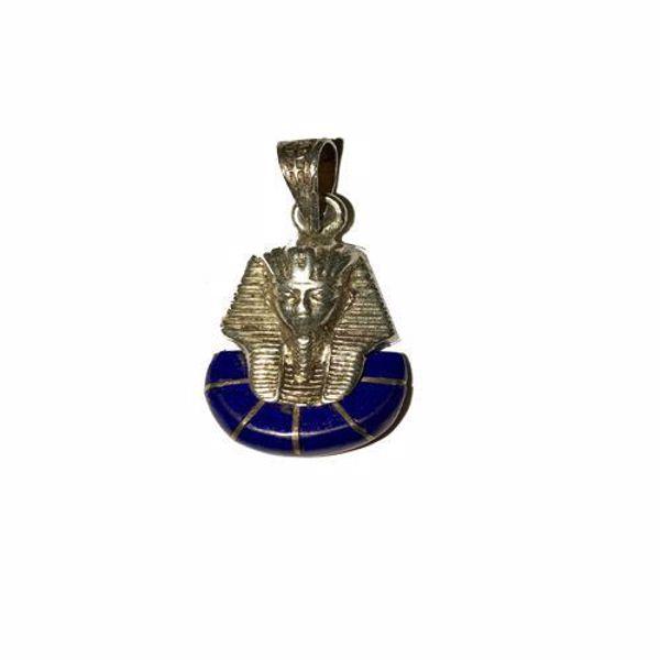 Picture of  Amuleto Faraón Tutankamon Lapislazuli grande