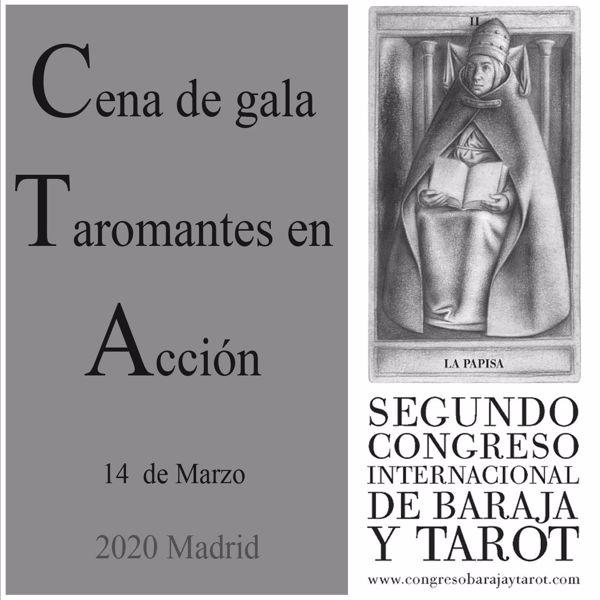 """Picture of Cena de Gala """"Taromantes en acción"""" y premios ASES 2020"""