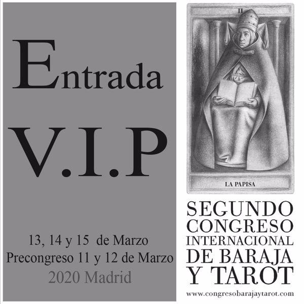Imagen de  Entrada VIP para el día 13 , 14 Y 15 de marzo al II Congreso internacional de Baraja y Tarot.