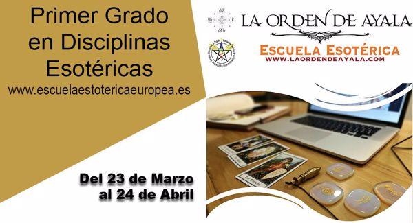 Imagen de Primer Grado en Disciplinas Esotéricas. On line. Diferido. Más de 35 horas grabadaas.
