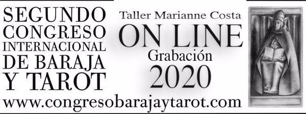 Picture of Marianne Costa (Taller Grabado) .Tarot integral. Trabajando con los 3 cuerpos del Tarot Oferta especial