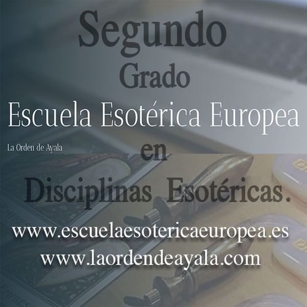 Imagen de Segundo Grado en Disciplinas Esotéricas. On line. Directo virtual.