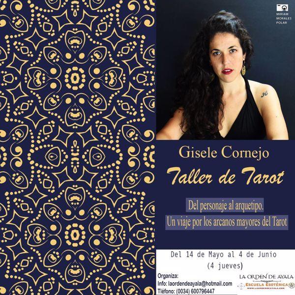Imagen de Taller de Tarot con Gisele Cornejo. (arcanos mayores) 25 euros. 8 horas grabadas.
