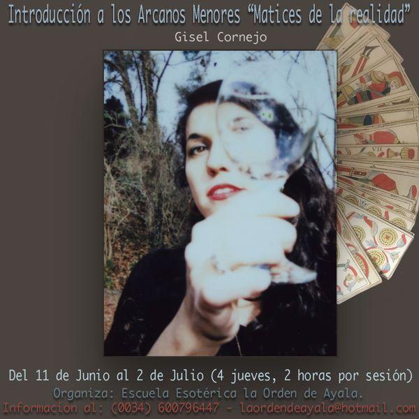 Imagen de Taller de Tarot con Gisele Cornejo. (Arcanos menores) 25 euros. 8 HORAS GRABADAS.