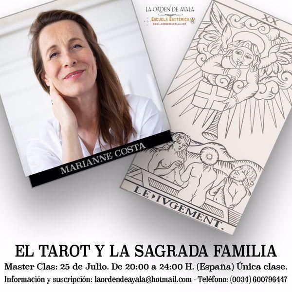 """Picture of Taller de Tarot en Exclusiva con Marianne Costa.   """"El Tarot y la Sagrada familia"""" Grabado. 25 euros"""