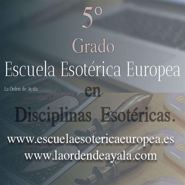 Imagen de Quinto Grado en Disciplinas Esotéricas. On line. Directo virtual.