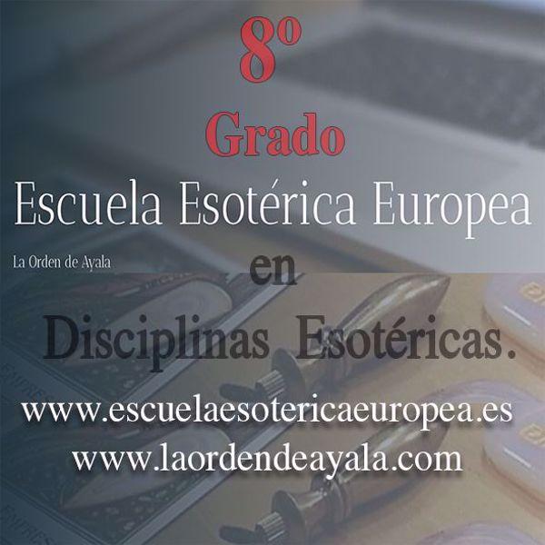 Imagen de Octavo Grado en Disciplinas Esotéricas. On line. Directo virtual.