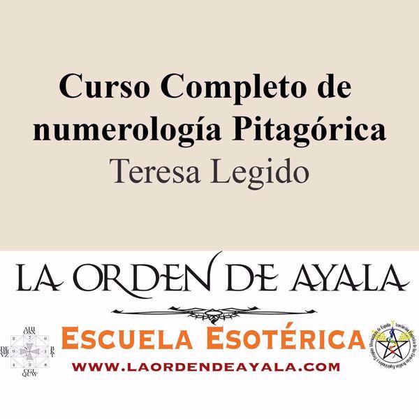 Imagen de Curso completo de numerología pitagórica. Teresa Legido.