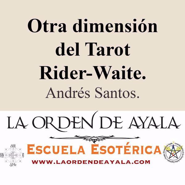 Imagen de Otra dimensión del Tarot Rider Waite. Andrés Santos.