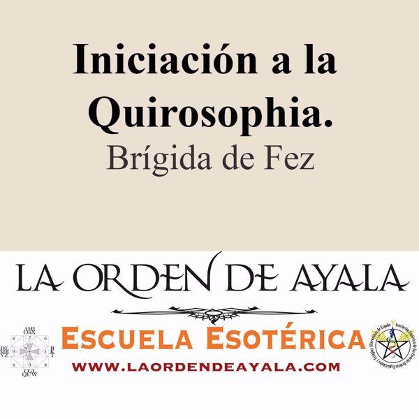 Imagen de Iniciación a la quirosophia. Brígida de Fez.