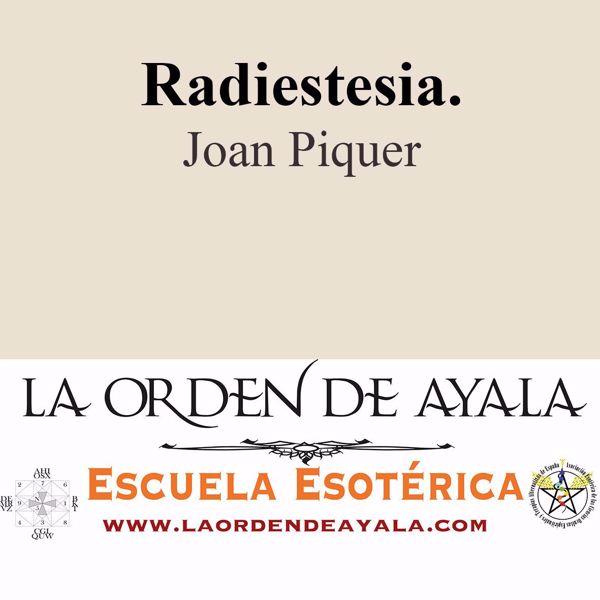 Imagen de Radiestesia. Joan Pique.