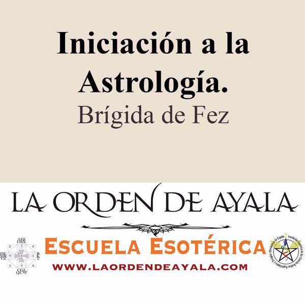 Imagen de Iniciación a la astrología. Brígida de Fez.